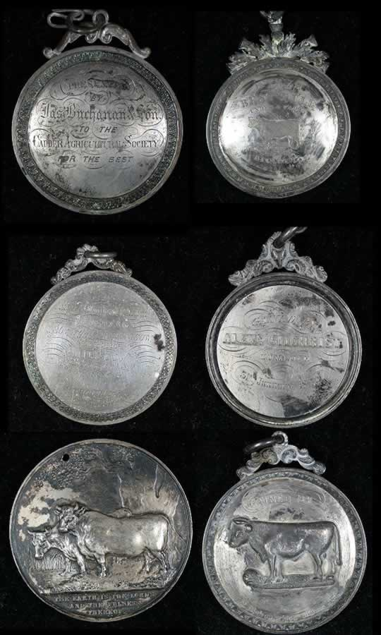 item161_A delightful group of 19th Century Silver English Agricultural Medals.jpg