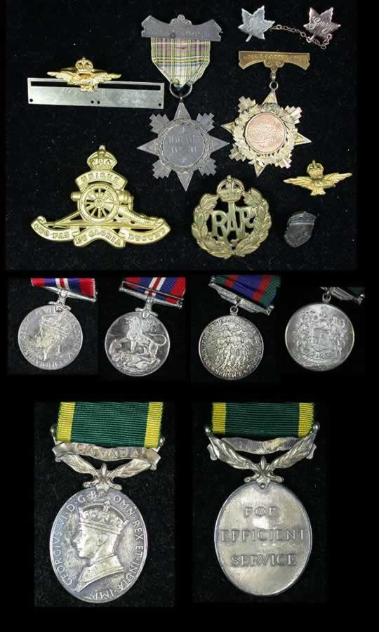 item162_Canadian WWII Trio to a CIC Sergeant with Efficiency Medal.jpg