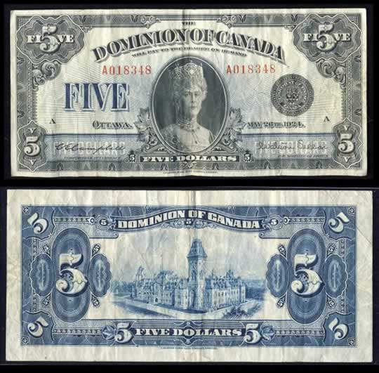 item196_A Rare 1924 Queen Mary Five Dollars.jpg