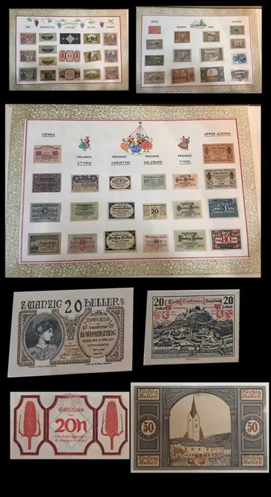 item608_A fine collection of mounted Austrian Notgeld.jpg