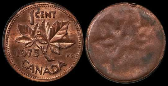 item79_Canada 1975 Cent Struck through a Planchet.jpg