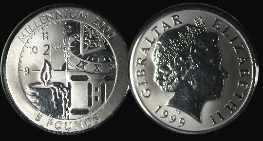 Canada 1999 Commemorative Sterling Silver Dollar KM-356 Gem BU Original older