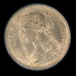 1886 Great Britain 1/2 Penny