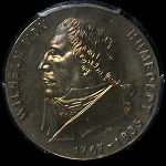 East Germany 1967 Humboldt 20 Mark PCG UNC.