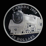 Canada 20 Dollar 2008 Canadian Pacific Train