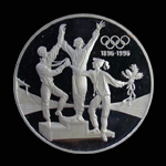 Australia 20 Dollar 1993 Olympic Athletes on Podium