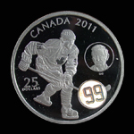 Canada 25 Dollars 2011 Wayne Gretzky Proof
