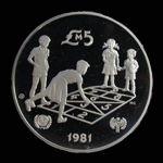 Malta 5 Pounds 1981 Year of the Child