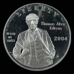 United States Dollar 2004 Thomas Edison