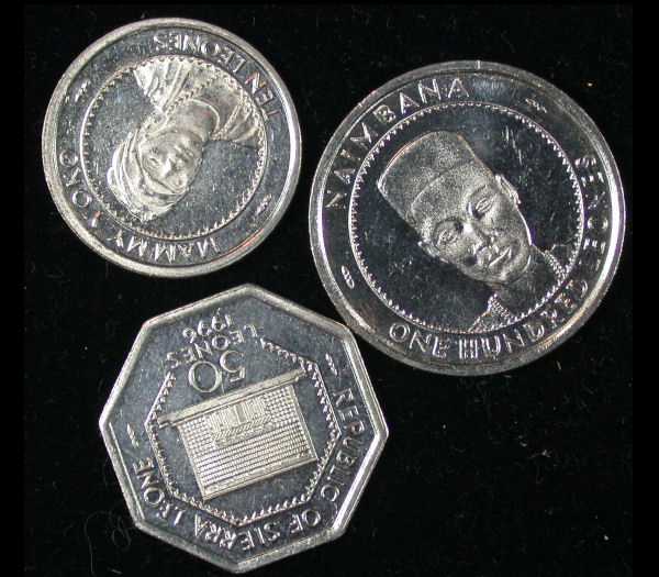 Sierra Leone Set of 3