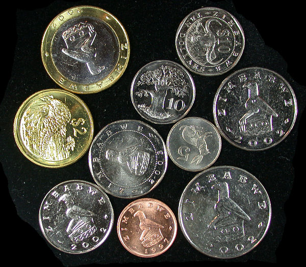 Zimbabwe Set of 10