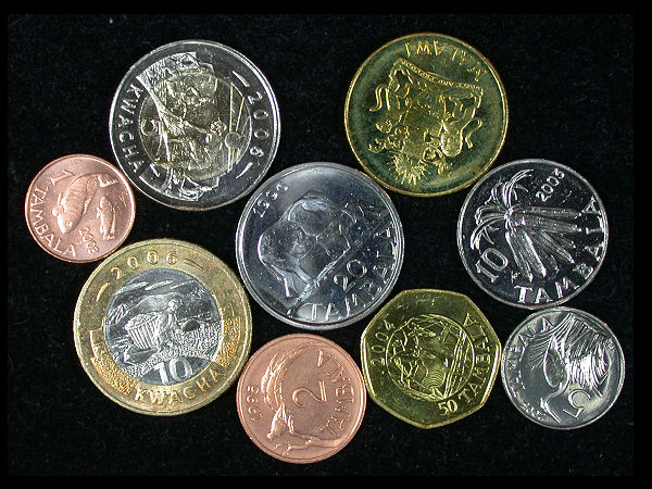 Malawi Set of 9 Coins