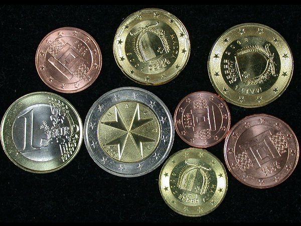 Malta Set of 8 Euro Coins