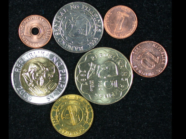 Philippines Set of 7 Coins