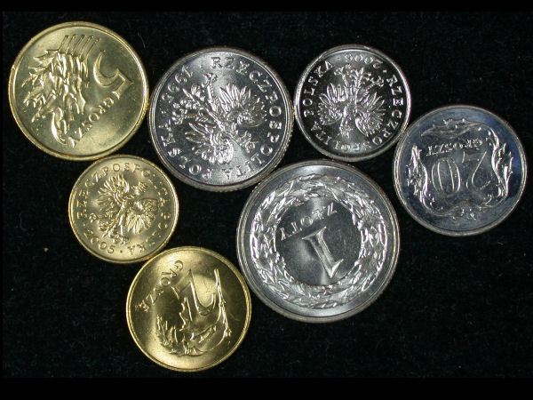Poland Set of 7 Coins
