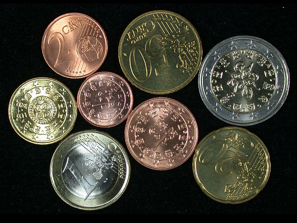 Portugal Set of 8 Coins