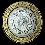 Argentina Set of 7 Coins