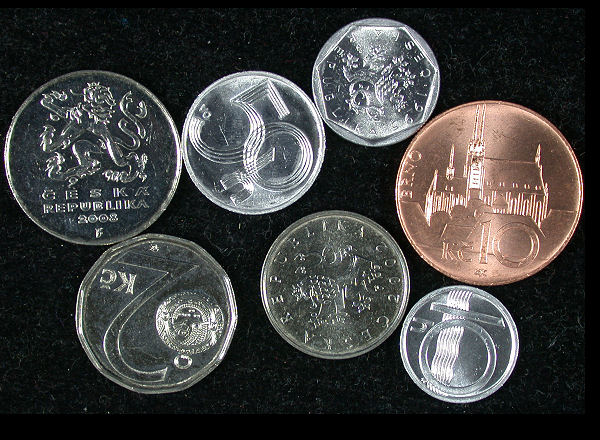 Czech Republic Set of 7 Coins