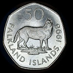 Falkland Islands Set of 7 Coins