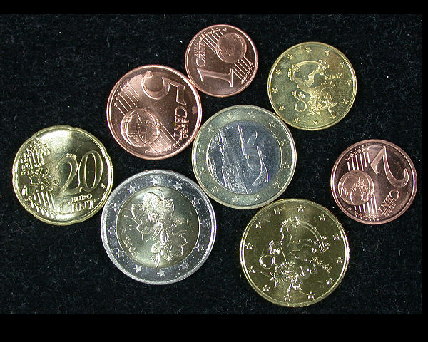Finland Set of 8 Euro Coins